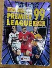 Merlin Premier League Sticker 1999 Album 100% Complete