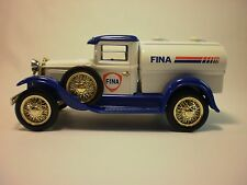 Fina 1929 Model A Tanker Die Cast Collectible Coin Bank 1 out of 5000 made in 19
