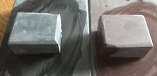 SET OF 2  NATURAL slurry or rubbing stones 8k & 12k