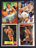 1996 1997 Steve Nash Rookie 4 Card Lot Fleer Hoops RC Inserts Suns Z Force