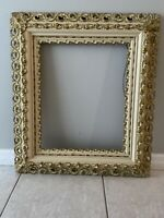 ANTIQUE GESSO & WOOD FRAME