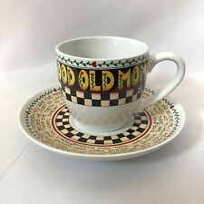 Mary Engelbreit Me Tea Cup & Saucer Good Old Mom Coffee Cup Mom Sayings