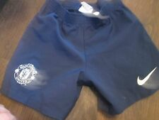 Manchester united 2012-2013 Away Football Shorts Size XS kids waist  /bi