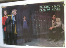 """TALKING HEADS_FEAR OF MUSIC_ORIGINAL, 1979, SIRE RECORDS PROMO POSTER, 23"""" x 35"""""""