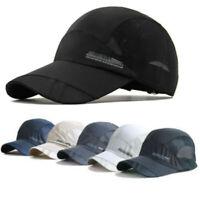 Men Women Sport Baseball Mesh Hat Running Visor Quick-drying Cap Summer Outdoor