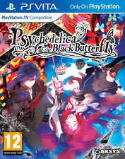Psychedelica of The Black Butterfly PS Vita Game Pegi Cover