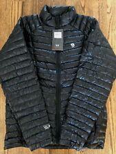 Mountain Hardwear Mens Ghost Whisperer Down Jacket - Black XL 800 Fill