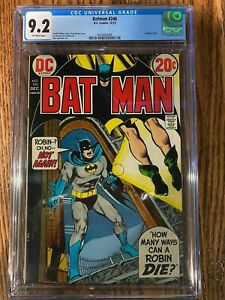 BATMAN #246 DC COMICS CGC 9.2