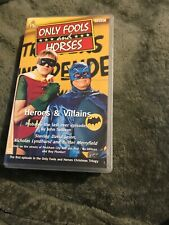 Only Fools And Horses - Heroes And Villains VHS VIDEO TAPE