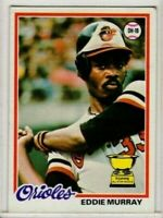 EDDIE MURRAY 1978 TOPPS #36 Orioles HoF ROOKIE RC MINT L@@K!