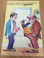 Collectable Funny Postcard Unused By Cardtoon Risqué Humour Comic Series B C24