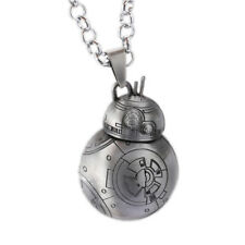 Stainless Steel Star Wars BB-8 Necklace metal bb8 droid robot starwars pendant