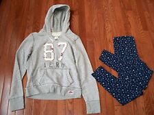 Lots of 2 Pcs Womens/Youth Comfy Outfits, Size S, Pre-owned