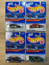 Hot Wheels Segment Kung Fu Force Series Complete 4 Vehicle Set 2000 Toyota MR2