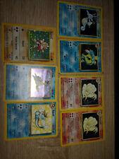 Lot de 7 Cartes Pokémons Divers collections / Occasion FR