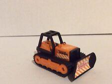 "1994 Miniature 3"" TONKA Orange Bulldozer Plow Construction Cake Topper"