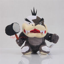 Super Mario Bros. Morton Bowser Koopa JR.Big Mouth 7'' Plush Toy US Shipped