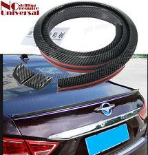Universal Carbon Fiber Rear Wing Lip Spoiler Car Roof Trunk Bonnet Fit Hyundai