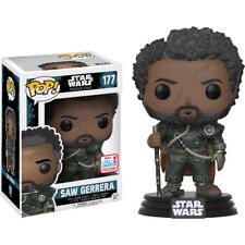 Star Wars: Rogue One - Saw Gerrera with Hair Pop! Vinyl Figure (2017 Fall Con)