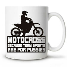 Coffee Mug MOTOCROSS mx fmx motorcycle ride Novelty Cup 11 oz gift funny humour