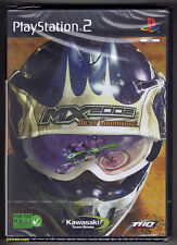 PS2 MX2002 Featuring Ricky Carmichael, UK/French Boxtext, New & Factory Sealed
