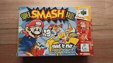 BOXED | Super Smash Bros Nintendo 64 | Manual | PAL