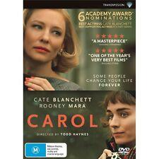CAROL-Cate Blanchett, Rooney Mara-Region 4-New AND Sealed