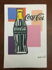 Andy Warhol Litografia 57 x 38 Arches Timbro Secco Israel Castelli AN242