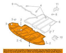 AUDI OEM 96-01 A4 Quattro Splash Shield-Front Under Engine Cover 8D0863821N