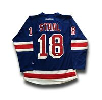 Marc Staal Signed New York Rangers Jersey JSA COA Autograph Reebok