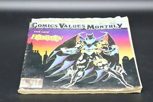 Comics Values Monthly #86 Octrober 1993
