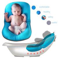 Baby Bath Tub Pillow Pad Air Cushion Floating Soft Seat Infant Newborn Anti-slip