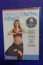 Pre and Post Natal Fitness (DVD, 4 Disc Set) NEW SEALED Free Shipping