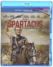 Spartacus + HD UltraViolet Copy 55th Anniversary Restored Edition Blu-ray 1960