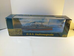 Gearbox USS Military Classics USS Indianapolis 1:700 Scale Diecast NEW IN BOX