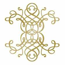 More details for couture creations anna griffin foil stamp die curling motif
