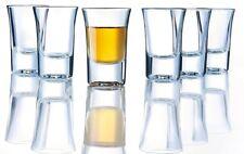 6 Luminarc Spirit Bar Shot Glass 3.4cl Vodka Alcohol Party Kitchen Serving Drink