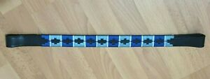 Designer  Multi color  Browband ,Polo Leather Black X FULL (A4)