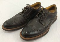 Sperry Top Sider Gold Cup Mens Brown Leather Wingtip Oxfords Size US 10.5 M