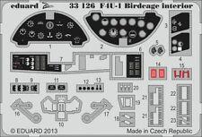 Eduard Zoom 33126 1/32 Tamiya Vought F4U-1 Corsair Bird Cage Birdcage