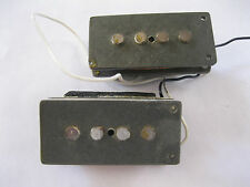 70's 80's FENDER Precision Bass 1981 PICKUP Gray Bobbins P-Bass NO COVERS