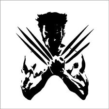 THE WOLVERINE Sticker 210mmW Xmen Suit Wall Art Car Ute Ps4 xBox.