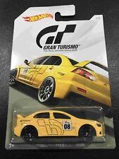 Hot wheels Hotwheels Gran Turismo 2008 Lancer Evolution NEW