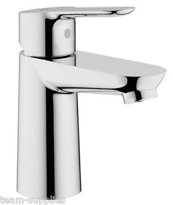 GROHE BauEdge Single Lever Mono Basin Mixer Tap Smooth Bodied 23330000