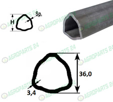 Gelenkwelle mit Sternratschenkupplung BG1 1000mm 400Nm 16-25PS Made in Europe