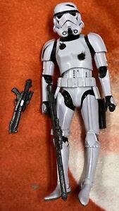 "Star Wars Hasbro Black Series 6"" Stormtrooper  Amazon Exclusive loose"