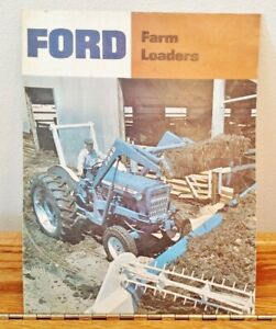 Ford Tractor Farm Loader 771, 772, 773, 774, 730 Advertising Brochure AD-7278