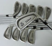 Titleist DCI Oversize+ Iron Set 2-9, PW, & LW All Steel Shafts Except 5 Iron