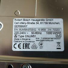 Bosch MUM51 Küchenmaschine 1000W