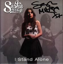 SASHA MCVEIGH I Stand Alone 2015 UK 12-track SIGNED / AUTOGRAPHED CD + CoA